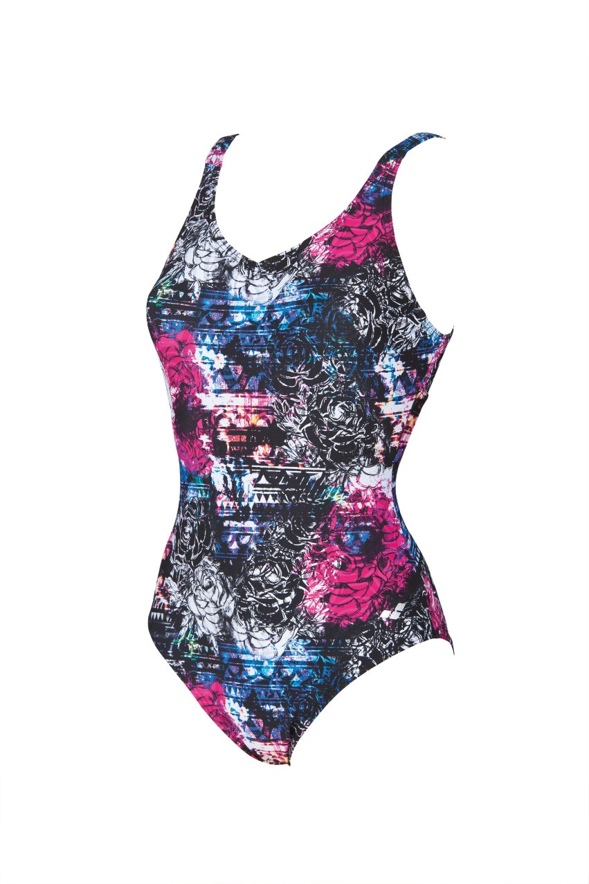 W Pearl Wing Back One Piece C-Cup