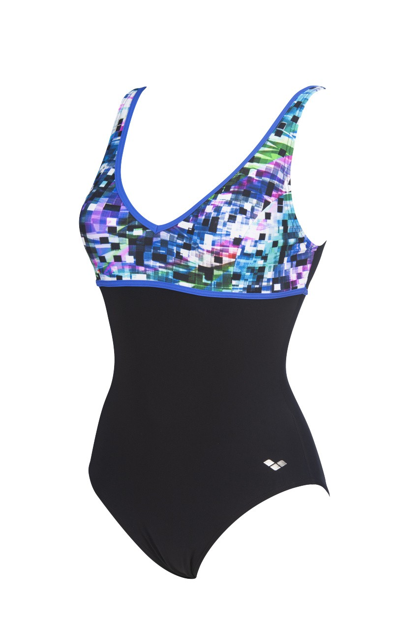 W Misaki Wing Back One Piece C-Cup