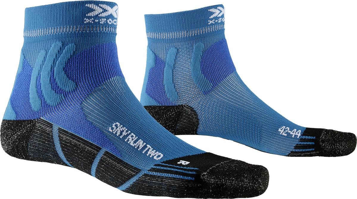 Sky Run Two Socks