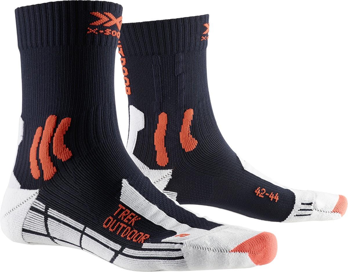 Trek Outdoor Socks blue
